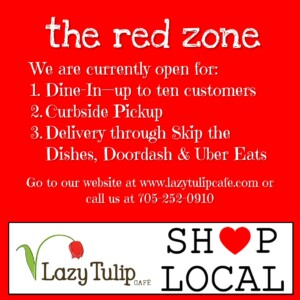 Lazy Tulip Cafe Red Zone